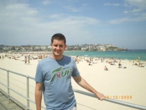 The Neu Dad on Bondi Beach in 2009