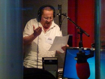 Voice-over artist Peter Kenny
